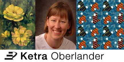 Artist Ketra Oberlander