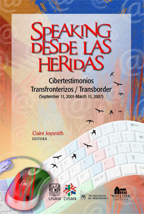Cover of Cibertestimonios Transfronterizos/Transborder Cybertestimonials
