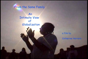 'From the Same Family: An Intimate View of Globalization,' Video Still, 1999, Catherine Herrera and Flor de Miel Media 1999