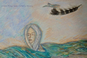 'Woman Rising,' Amah Katura: Women Honoring Sii (Water),photo by Catherine Herrera, Intl CR Reserved. Contact for License