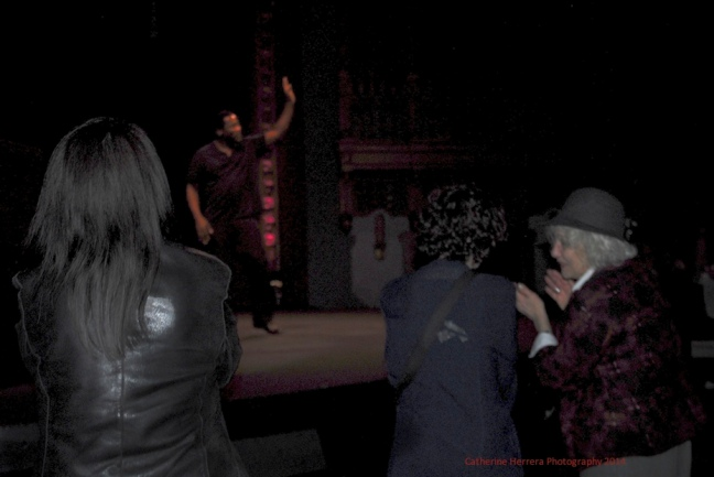 Daniel Beaty 'Transforming Pain to Power' performance, photo by Catherine Herrera, Intl CR Reserved. Contact for License